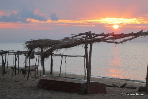 Sunrise on Lake Malawi nr Chiweta