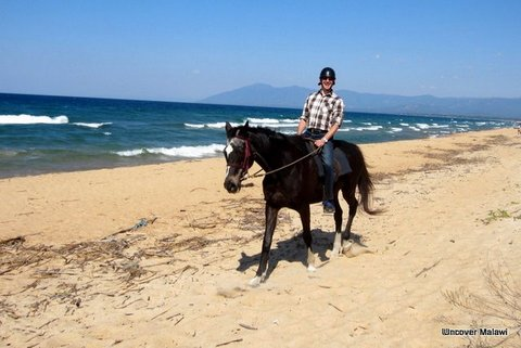 Horse Riding at Kande Beach